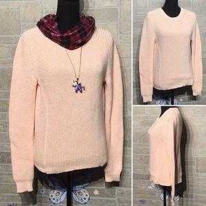 GAP - Sz S - thick peach sweater - warm & soft